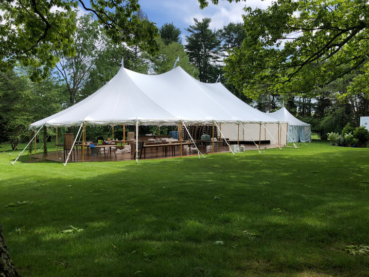 44x83 With A 20x30 Catering Tent