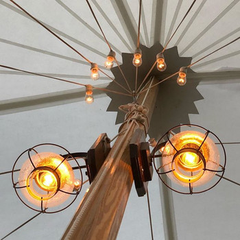Onion Lamps add warmth to any sailcloth