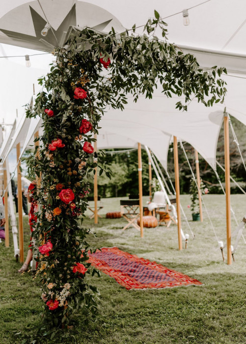Tidewater Wave Receives Wedding Decore