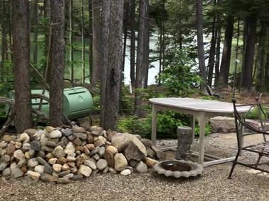 32x50 Tidewater Tent Amongst A Woodland Wonderland