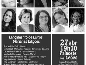 """""""LANÇAMENTO DE LIVROS MARIANAS EDIÇÕES"""""""