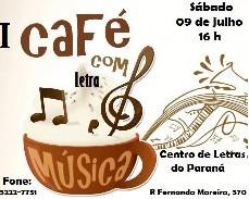 I Café com Letra e Música