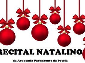 RECITAL NATALINO da ACADEMIA PARANAENSE DA POESIA