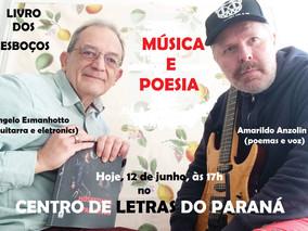 LIVRO DOS ESBOÇOS - Música e Poesia - Hoje!