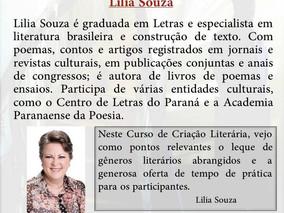 """PROGRAMAÇÃO DO """"CURSO DE CRIAÇÃO LITERÁRIA"""" PARA O PRÓXIMO SÁBADO - 27/05"""