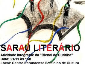CONVITE: Sarau Literário