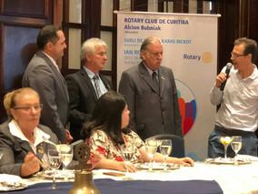CLP no Almoço de 85 anos do ROTARY CLUB DE CURITIBA