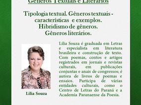 CURSO DE CRIAÇÃO LITERÁRIA - Programação para o dia 29/04/2017