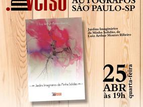 """""""Noite de Autógrafos"""" de LUIZ ARTHUR MONTES RIBEIRO"""