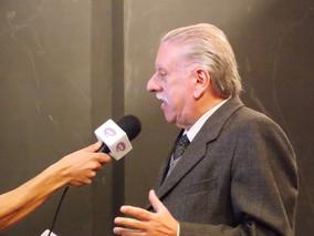 NEY FERNANDO PERRACINI DE AZEVEDO é entrevistado pela TV É-Paraná