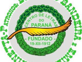 PROGRAMAÇÃO DE AGOSTO DO CENTRO DE LETRAS DO PARANÁ