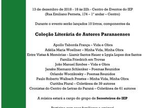 FESTA LITERÁRIA e LANÇAMENTO DE LIVROS