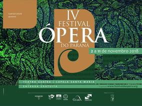 ORLY BACH se apresenta HOJE     no IV Festival Ópera do Paraná