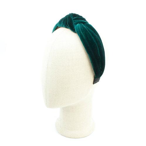 Emerald Turband Knot Headband