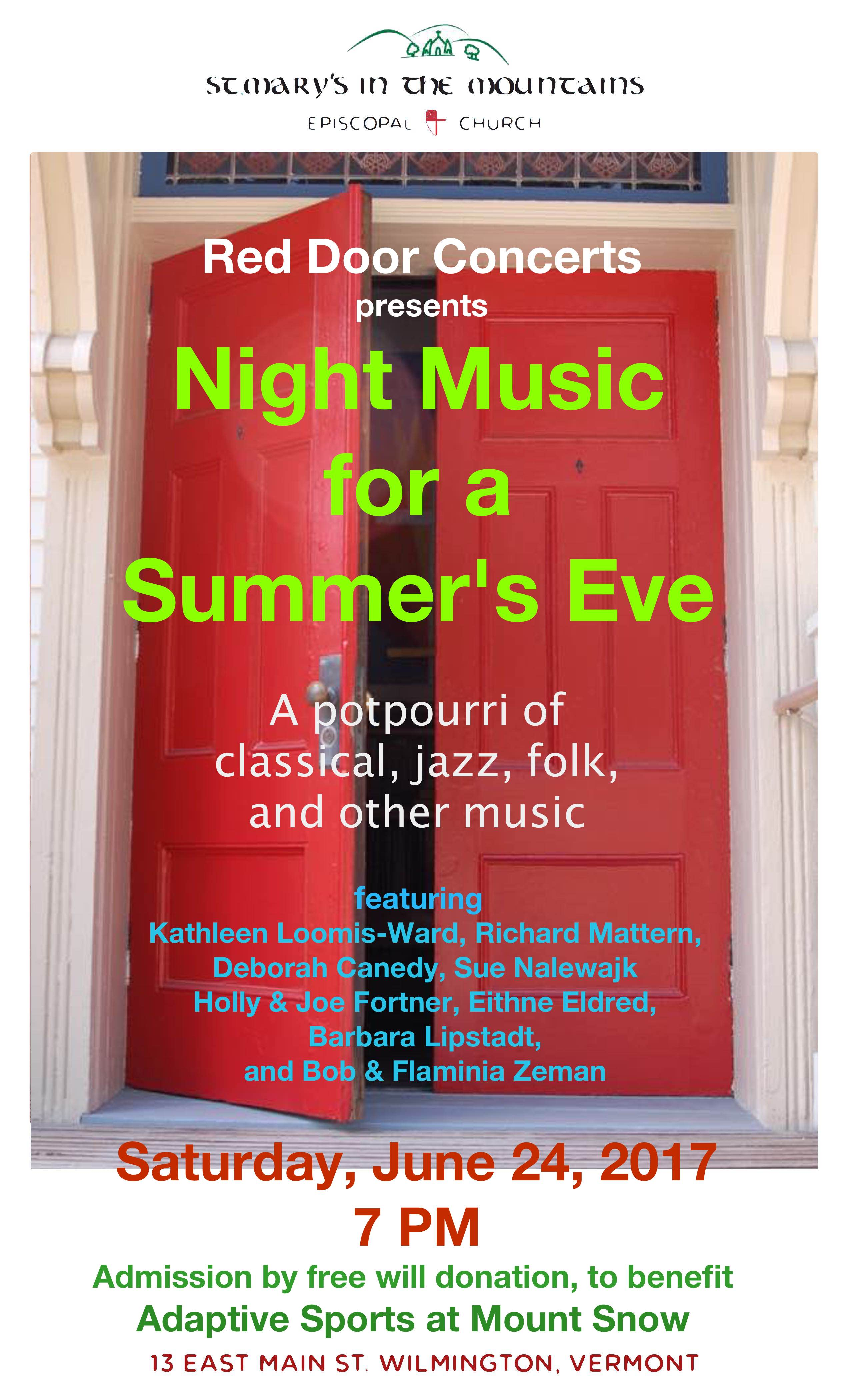 June 24 2017 Concert Poster