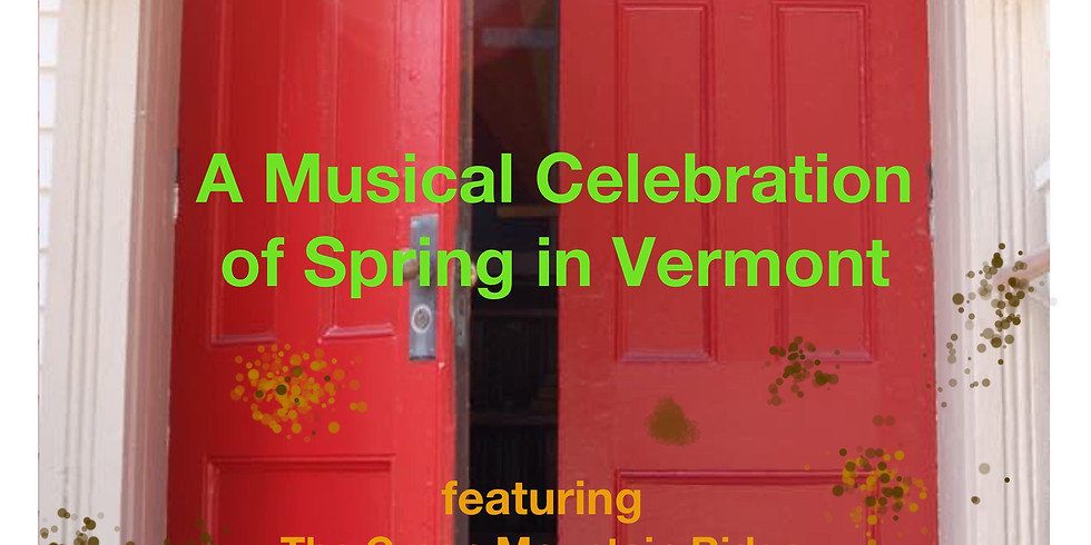 Mud on the Red Door:  A Musical Celebration of Spring in Vermont