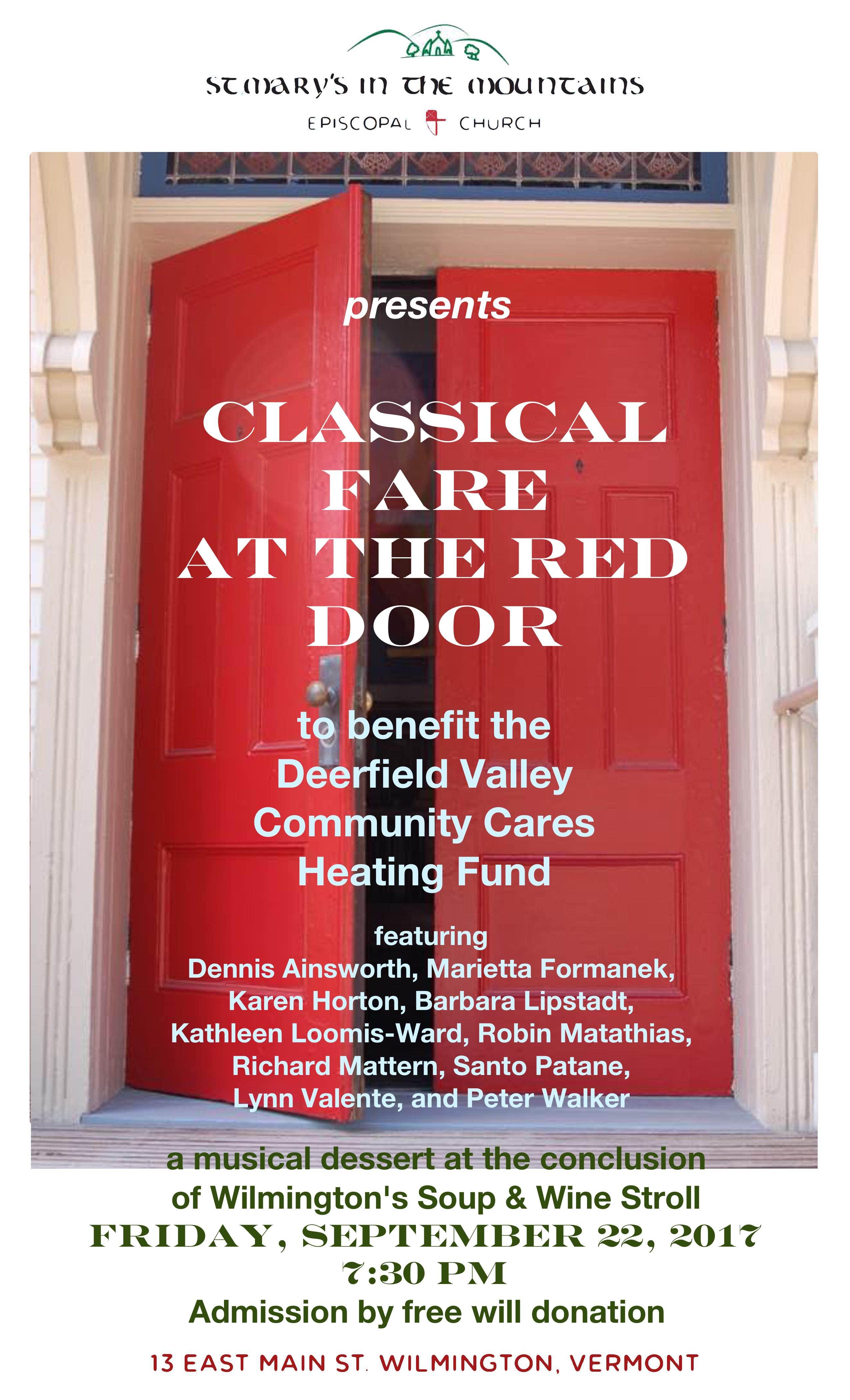 Red Door Poster Sept 2017