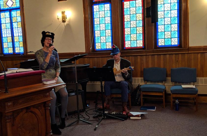 Holly & Joe lead All God's Critters