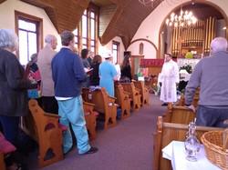 St. Mary's service