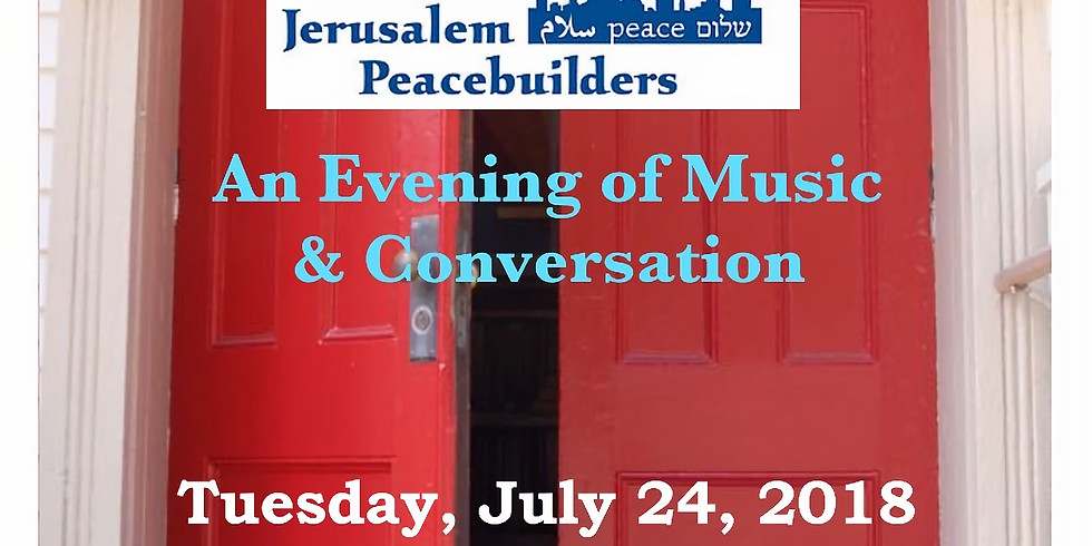 The Red Door to Peace:  Music and Conversation with Jerusalem Peacebuilders