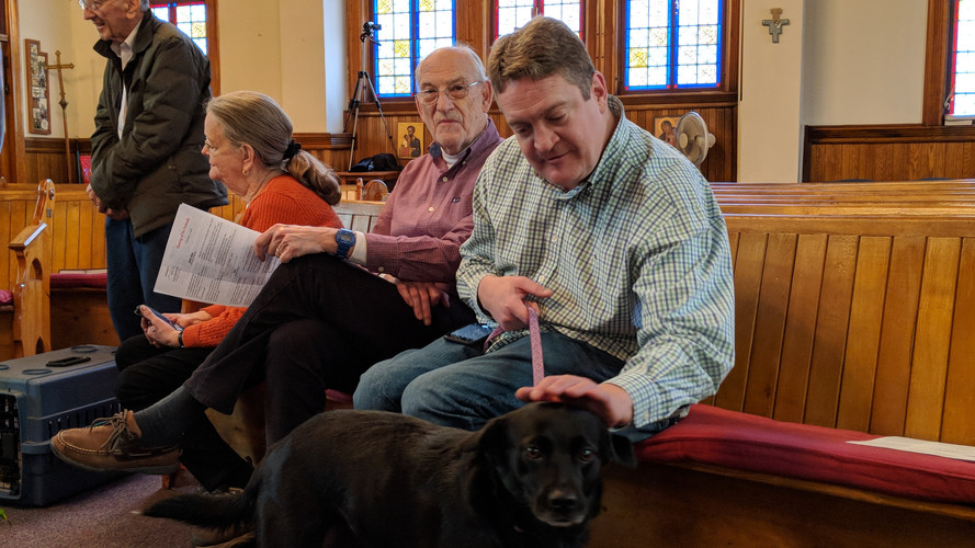Blessing of Animals 2018 at St. Mary's