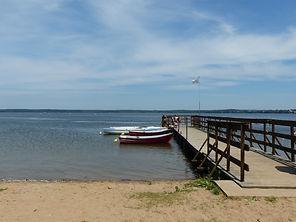 Plaża w Kruklankach