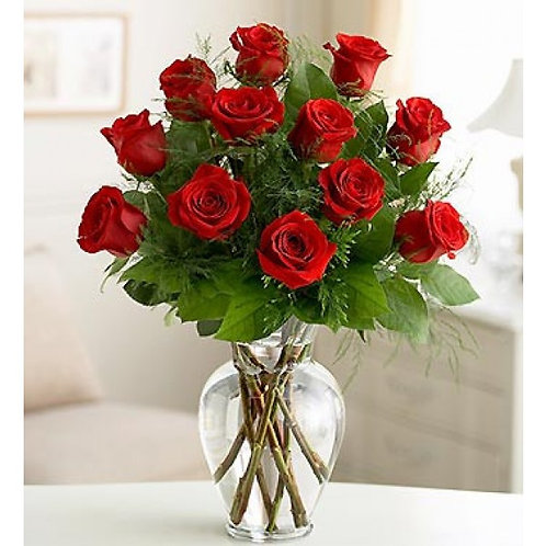 ELEGANCE PREMIUM LONG STEM RED ROSES