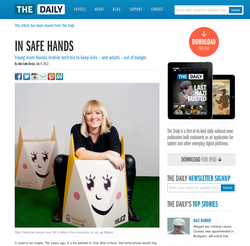 In safe hands -  The Daily