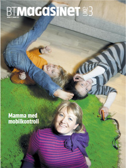 2011.01.22, BT - Silje med vilje (portrettet, cover)