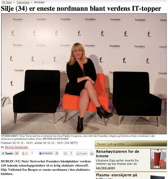 2012.10.20, VG - Silje på f.ounders