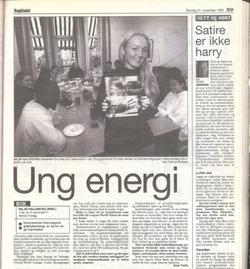 _Cropped, Dagbladet, 1999, Ung energi