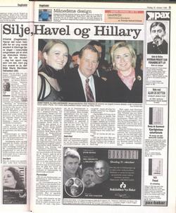 Dagbladet - 1998 - Silje, Hillary og Havel