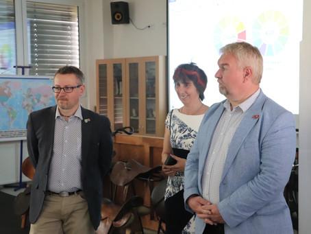 Střední škola chovu koní a jezdectví v Kladrubech má novou kotelnu a sociální zařízení