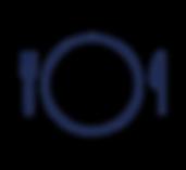 Image représenant ue partie du logo : une assiette vide où apparaît la photo de l'utilisateur