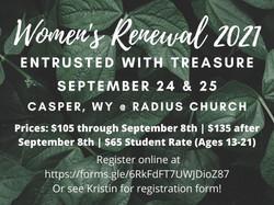 Women's Renewal 2021