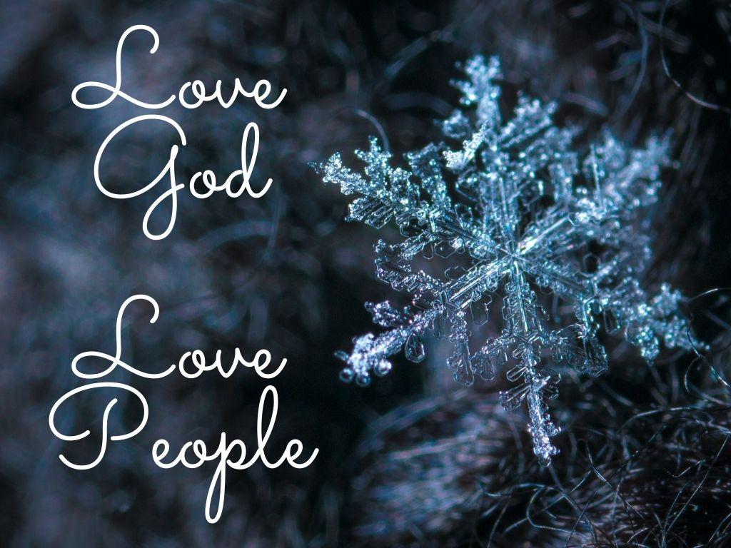 Love God... Love People