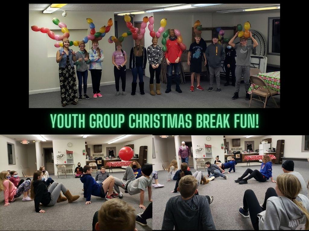 youth group christmas break fun!