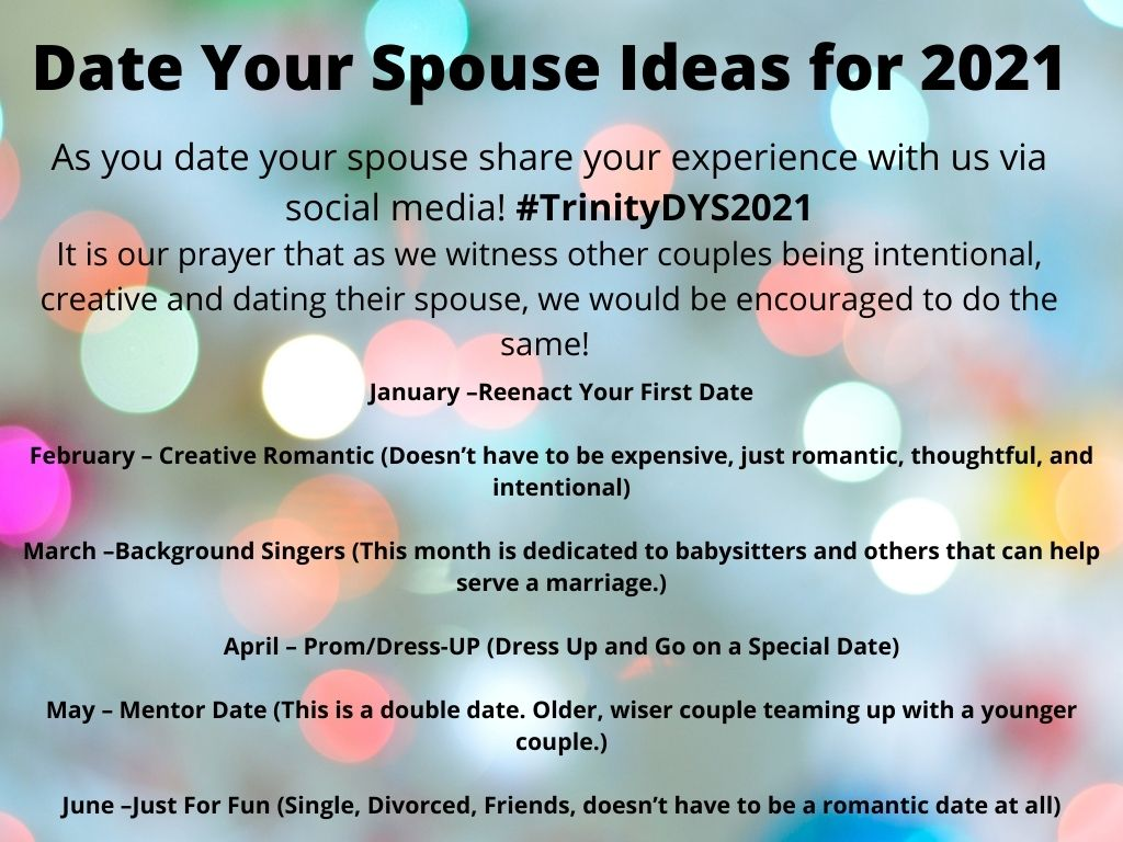 January – Reenact Your First Date Februa