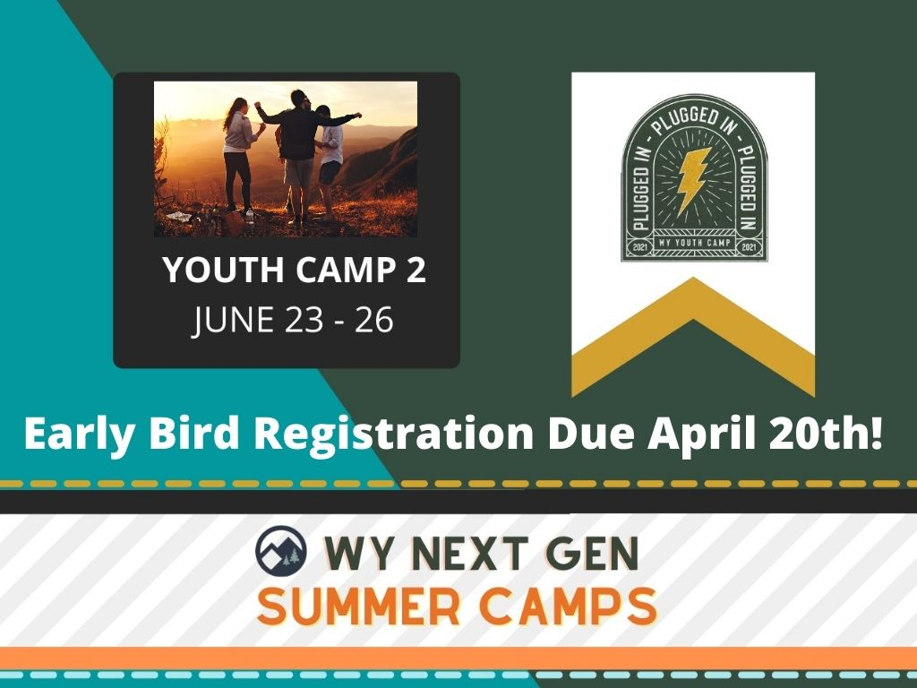 Early Bird Registration Due April 20th!.