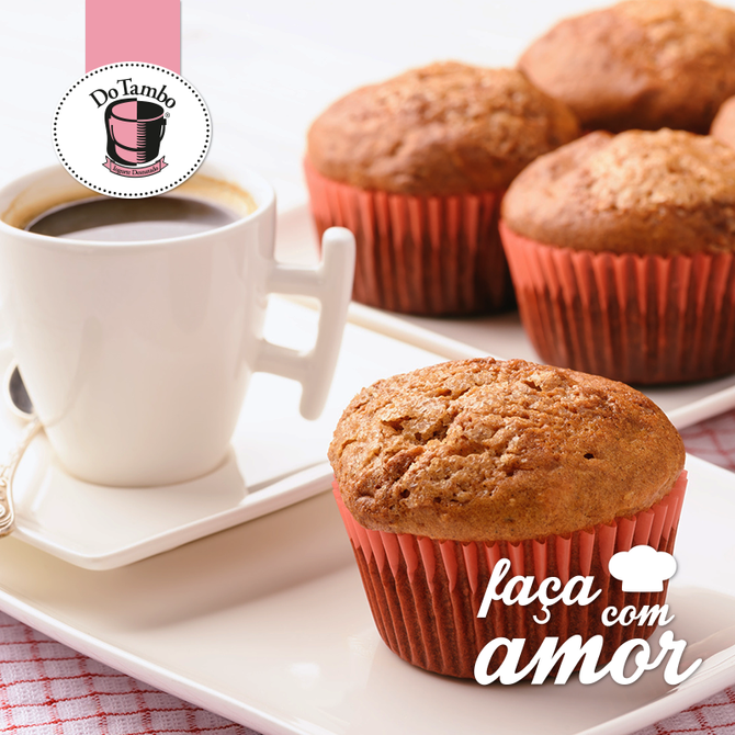 MUFFIN DE AMENDOIM
