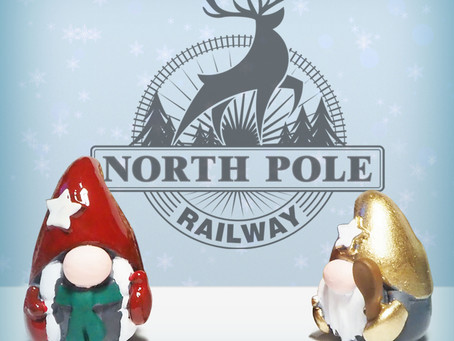 2021 Christmas train car theme