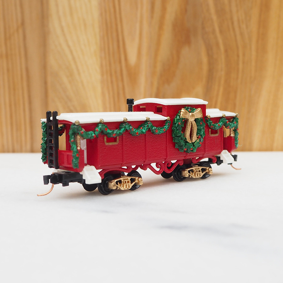 Christmas Caboose, Red - front