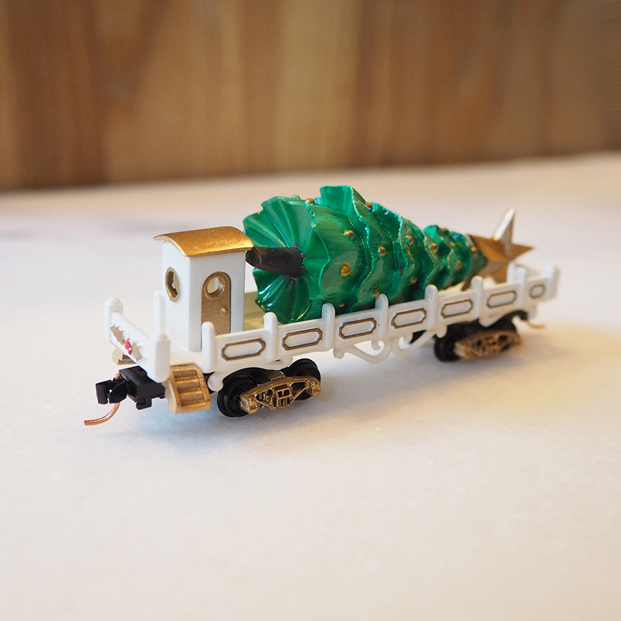 Tree Transport, White - back