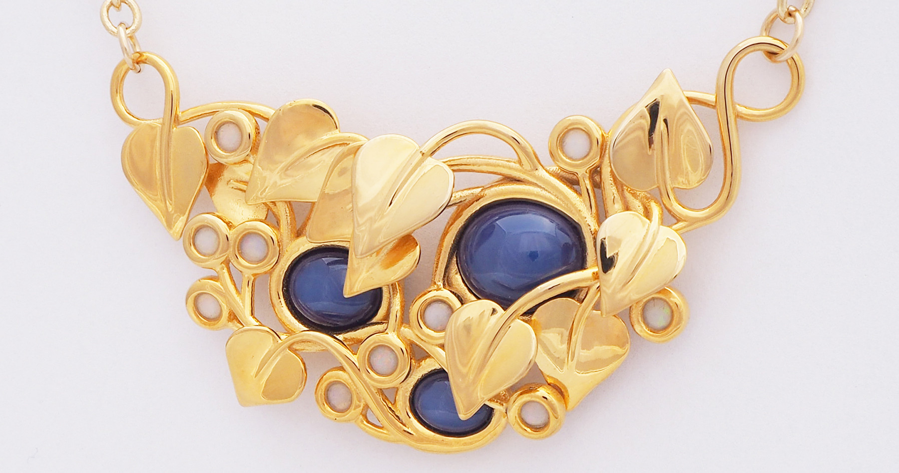 Midnight Stars, Gold - front view