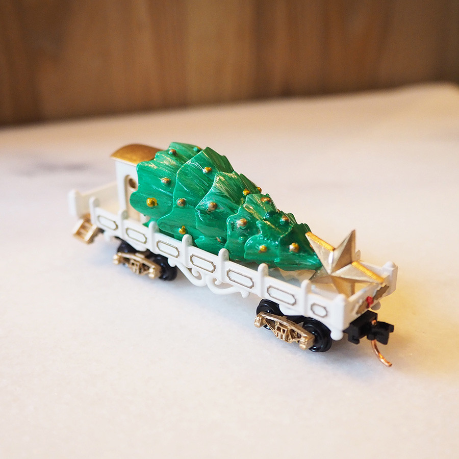 Tree Transport, White - front