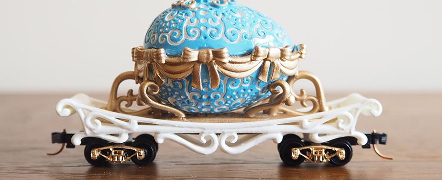 Easter Egg Mover, Light Blue - side