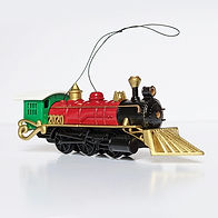 2020- Christmas Train Ornament - side vi