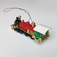 2020- Christmas Train Ornament - back vi