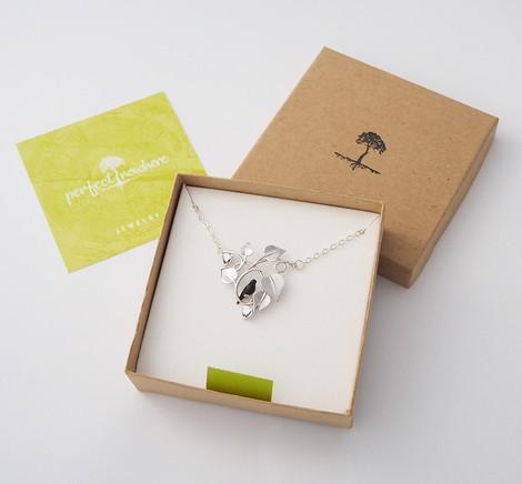Blackbird Embraced, Silver - packaging