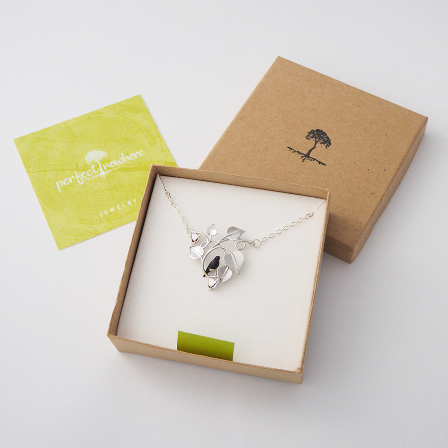 Blackbird Embraced, Silver - packaging